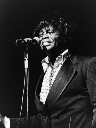James Brown at the Soul Bowl, 1982 by Norman Hunter