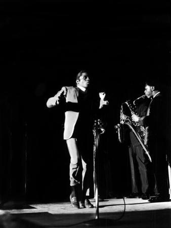 James Brown Shows Off Some of His Signature Moves, May 29, 1968 by Norman Hunter
