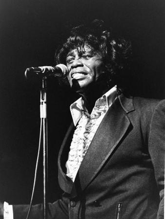 James Brown, Soul Bowl, - 1982 by Norman Hunter