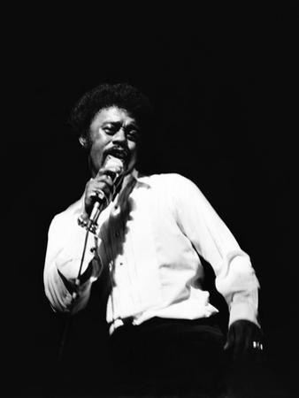 Johnnie Taylor by Norman Hunter