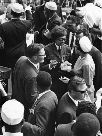 March on Washington - 1963 by Norman Hunter