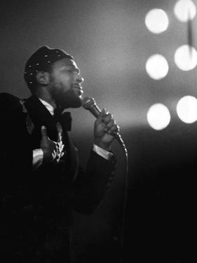 Marvin Gaye - 1974 by Norman Hunter