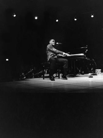 Ray Charles - 1971 by Norman Hunter