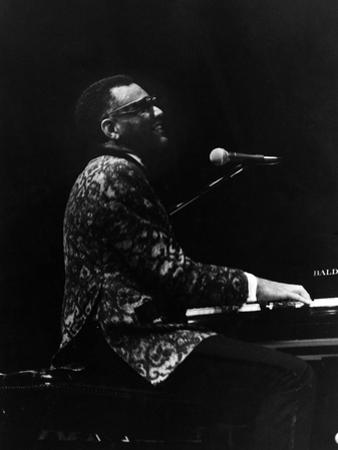 Ray Charles 1972 by Norman Hunter