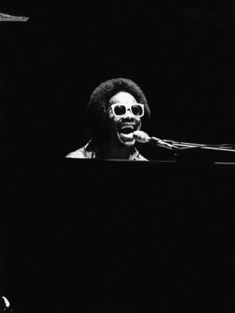 Stevie Wonder by Norman Hunter