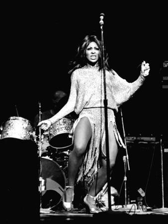 Tina Turner - 1974 by Norman Hunter