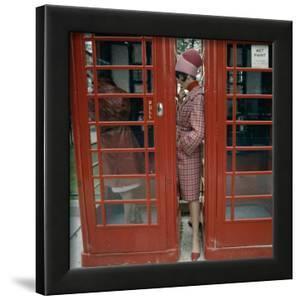 Phone Box, London, 1963 by Norman Parkinson