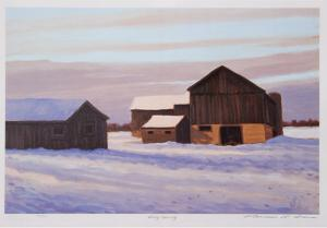 Snowy Morning by Norman R. Brown