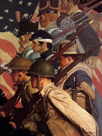A Pictorial History of the United States Army (or To Make Men Free)