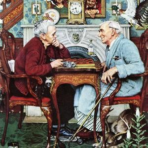 """""""April Fool, 1943"""", April 3,1943 by Norman Rockwell"""