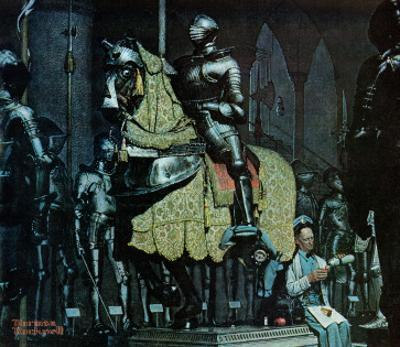 """""""Armor"""", November 3,1962 by Norman Rockwell"""