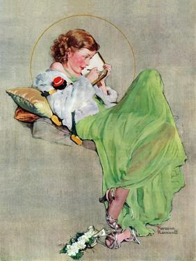 """""""Diary"""", June 17,1933 by Norman Rockwell"""