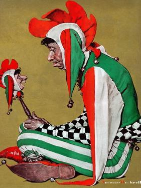 """Jester"", February 11,1939 by Norman Rockwell"