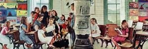 Norman Rockwell Visits a Country School by Norman Rockwell