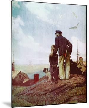 Outward Bound by Norman Rockwell