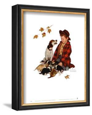 Pride of Parenthood by Norman Rockwell