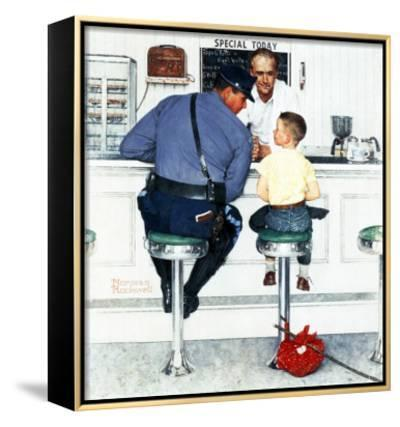 """""""Runaway"""", September 20,1958 by Norman Rockwell"""