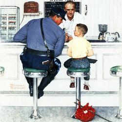 Runaway September 20 1958 By Norman Rockwell