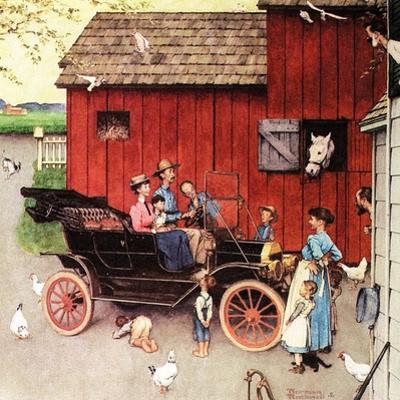 The Farmer Takes a Ride