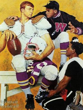 The Recruit by Norman Rockwell