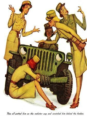 """The Wonderful Life of Wilbur the Jeep"" B"