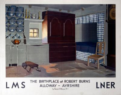 The Birthplace of Robert Burns, LMS/LNER, c.1923-1947