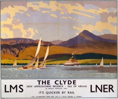 The Clyde, LMS/LNER, c.1923-1947