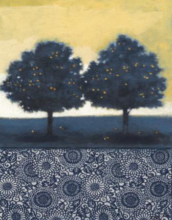 Blue Lemon Tree II by Norman Wyatt Jr.