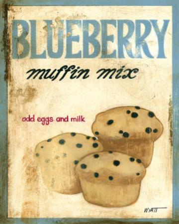 Blueberry Muffin Mix by Norman Wyatt Jr.