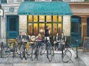 Café Impressions 3 by Norman Wyatt Jr.
