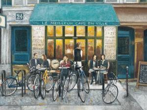 Café Impressions 3 by Norman Wyatt Jr^