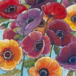 Electric Poppies 1 by Norman Wyatt Jr^