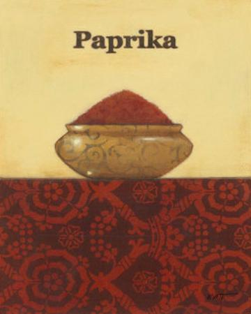 Exotic Spices: Paprika by Norman Wyatt Jr.