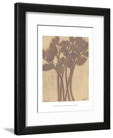 Gilded Grey Leaves I by Norman Wyatt Jr.