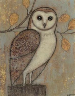 Ornate Owl I by Norman Wyatt Jr.