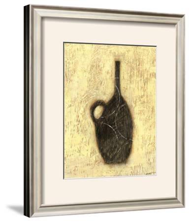 Woodcut Ebony Vase II by Norman Wyatt Jr.