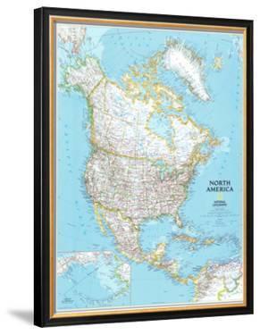 North America Political Map