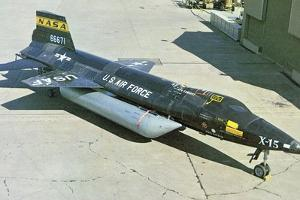 North American X-15 Hypersonic Experimental Aircraft