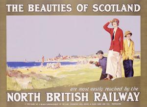 North British Railway, Golf in Scotland