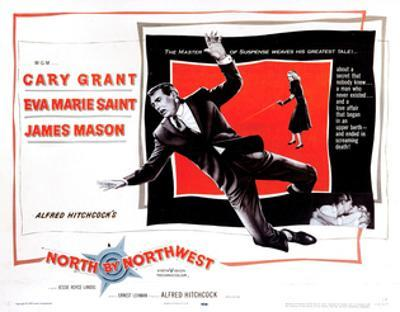 North by Northwest, from Left, Cary Grant, Eva Marie Saint, 1959