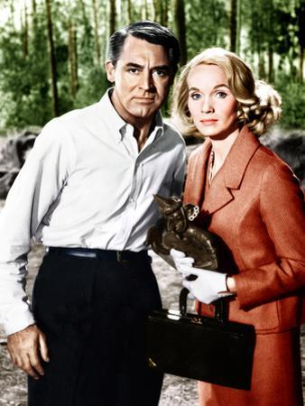 North by Northwest, L-R: Cary Grant, Eva Marie Saint, 1959