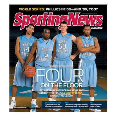 North Carolina Tar Heels Basketball - November 10, 2008