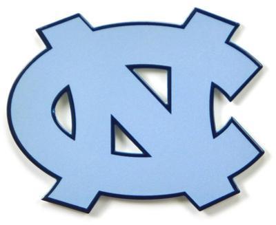North Carolina Tar Heels Steel Magnet