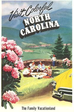 North Carolina Travel Poster