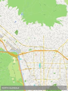 North Glendale, United States of America Map