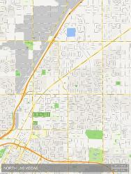 Affordable Maps of Las Vegas, NV Posters for sale at AllPosters.com