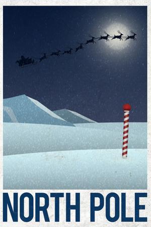 North Pole Retro Travel
