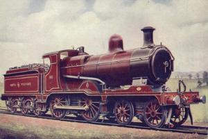 North Staffordshire Railway 4-4-0 Locomotive No 86