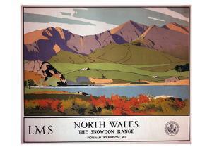 North Wales the Snowdon Range