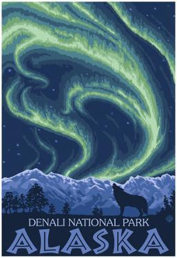 Northern Lights, Denali National Park, Alaska
